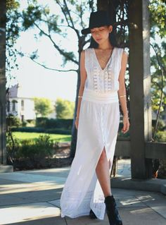 Maxi dress perfect to get ready for festival season