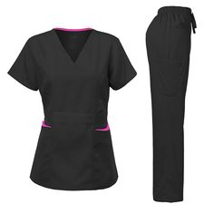Medical Uniforms, Womens Scrubs, Scrub Sets, Ares, Contrast, Pants For Women
