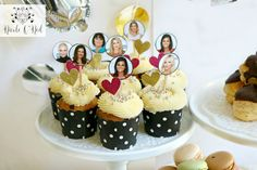Real Housewives of Sydney Cupcakes - Choose Your Favourite Housewife - DIY Real Housewives of Sydney Reunion Party Party Themes, Party Ideas, Gift Ideas, Birthday Bash, Birthday Gifts, Sydney Blog, Bar Set Up, Science Party, Circus Theme