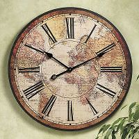 Map of the World Clock