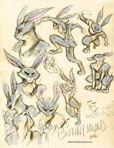 Bunnymund Sketches by Hahli1994 on DeviantArt