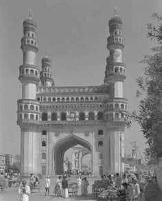 HYDERABAD Once upon a time !: Charminar Old Photo