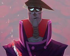 ¯\_(ツ)_/¯ Samurai Jack, Samurai Warrior, Character Design References, Character Art, Cartoon Art, Cartoon Characters, Early 2000s Cartoons, Ed And Eddy, Beautiful Stories