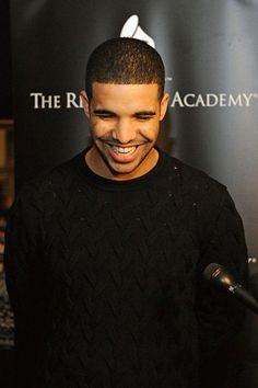 Drizzy has a cute smile.