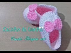 Sapatilha de crochê Fácil  #crochet - YouTube