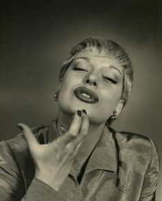 Carol Channing by Nina Leen, 1949