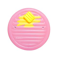 FUNBOY Giant Inflatable Retro Pancake Pool Float for sale online Swimming Pool House, Swimming Pools, Cool Pool Floats, Summer Ray, Summer Pool, Pool Accessories, Little Bit, Pool Toys, Water Slides