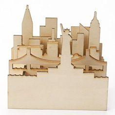 New York Cityscape Pen Stand