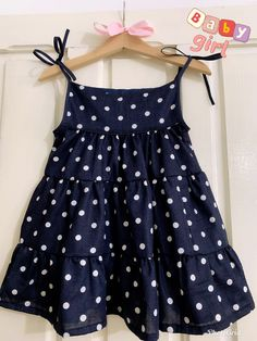 Kids Summer Dresses, Stylish Dresses For Girls, Frocks For Girls, Cute Outfits For Kids, Toddler Girl Dresses, Little Girl Dresses, Little Girl Fashion, Toddler Fashion, Kids Fashion