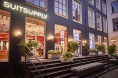 Suitsupply Copenhagen now open. Spring Summer 2016, New Image, Copenhagen, Multi Story Building, Men's Fashion, Store, Tents, Moda Masculina, Mens Fashion