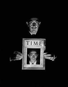 Salvador Dalí (by Philippe Halsman)