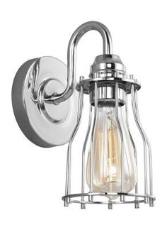 Murray Feiss - VS24001CH - One Wall Sconce - Chrome