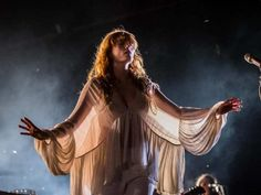 Night dark light Florence Welch of Florence and the Machine performs on Day 1 of the 2015 edition of the Osheaga Music and Arts Festival at Parc Jean-Drapeau in Montreal on Friday, July Kari Jobe, Pentatonix, Jesus Christ Superstar, Florence The Machines, Lorde, Art Festival, Ethereal, Art Inspo, Music Artists