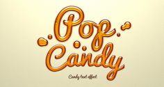 A sweet and fun photoshop candy text effect to make your design extra jelly. The layer style effect can be applied on text and shapes for a sweet jelly . Free Psd Candy Text Effect Photoshop Fonts, Photoshop Text Effects, Cool Photoshop, Photoshop Illustrator, Photoshop Tutorial, Web Design, Graphic Design, Retro Design, Graphic Art