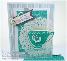 Crafty and Creative Ideas: A Nice Cuppa - DSC#163 & PPA282