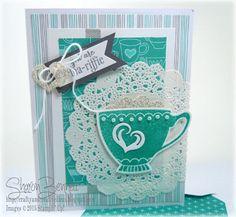 Crafty and Creative Ideas: A Nice Cuppa - DSC#163 & PPA282