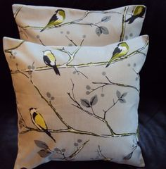 Throw pillow covers...esty