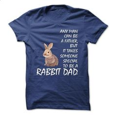 RABBIT DAD - #couple shirt #cat hoodie. ORDER NOW => https://www.sunfrog.com/Pets/RABBIT-DAD.html?68278
