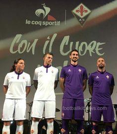 Fiorentina 2016-17 Soccer Shirts, Sports, Tops, Fashion, Hs Sports, Moda, Football Shirts, Fashion Styles, Sport