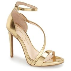 b11193f81a3579 Jessica Simpson  Rayli  Patent Ankle Strap Sandal