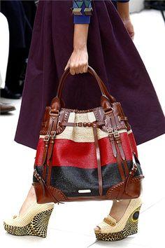 Burberry Prorsum - Spring Summer 2012 Runway Cheap Designer Handbags cb5c0852d5bc9