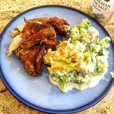 Boston Market chicken (wings) and homemade cheesy broccoli casserole #keto #ketosis #ketogenic #ketogeniclife #ketosislifestyle #nutritionalketosis #paleo #eatfatlosefat #food #breakfast #dinner #lunch #lchf #lowcarbhighfat #atkins #glutenfree #sansgluten #yummy #pregnant #ketoweightloss #weightloss #ketofam #eatfattolosefat #reversediabetes #pcosweightloss #ketopregnancy - Inspirational and Motivational Ketogenic Diet Pins - Eat Keto Get Into Nutritional Ketosis - Discover LCHF to Prevent…