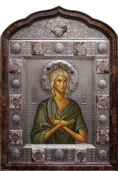 St Mary Of Egypt, Byzantine Icons, Orthodox Icons, Buddha, Statue, Angels, Painting, Art, Saints