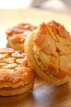 Bee sting cookies with eggnog filling - cake recipes with eggnog - Backen - Dessert Pastry Recipes, Baking Recipes, Cake Recipes, Snack Recipes, Dessert Recipes, Food Cakes, Easy Cookie Recipes, Sweet Recipes, German Cookies