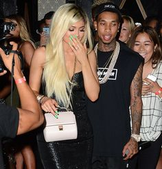 Social event Celebration : Kylie jenner make first public appearance with boy...