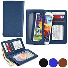 Cooper Cases(tm) Infinite Wallet Plum Sync 5.0 / Volt 3g Case In Blue (pu Canvas Cover, Built-in Screen Protector http://www.smartphonebug.com/accessories/best-14-plum-sync-5-0-cases-and-covers/