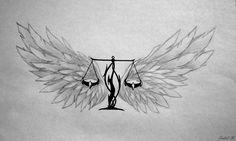 Libra Tattoo by Sakiama on DeviantArt