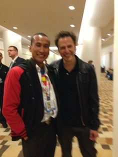 With director JAMES GUNN (Slither, Guardians Of The Galaxy) at Comic-Con 2013.  Check out my movie blog: Rama's SCREEN at www.ramascreen.com and LIKE my Facebook page at facebook.com/ramascreen and follow me on twitter at @RamasScreen  #GuardiansOfTheGalaxy #Marvel