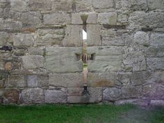Arrow loop from the South Gatehouse at Beaumaris Castle, Wales