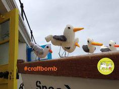 CraftBomb by Creative East Lothian - www.creativeeastlothian.org Yarn Bombing, The Secret, Crafty, Activities, Canning, Knitting, Creative, Fun, Inspiration