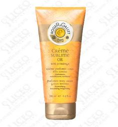 ROGER and GALLET CREMA PERFUMADA SUBLIME ORO BOIS D´ORANGE 200 ML