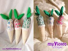 Juego variado de frutas y verduras, o almohadones, pesonalizados, por pedido, My Violet :D myvioletdesigns.com