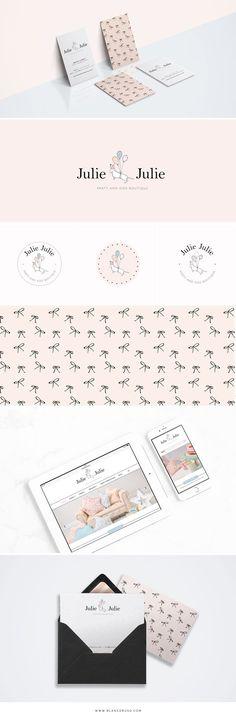 Desarrollo de la imagen de marca y tienda online de artículos de decoración y fiestas infantiles para Julie Julie Party.
