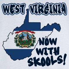 Funny State Pride West Virginia Novelty T Shirt - Rogue Attire