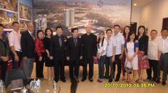Singapore team at Permas City