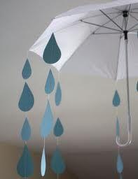 sunshine and raindrop decorated umbrella - Google Search