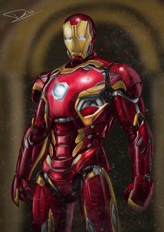 Mark 46 by dessian6085 on DeviantArt Iron Man