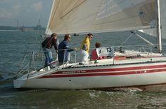 sailing on Ijselmeer Lake
