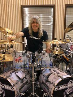 Mikkey Dee, Famous Guitars, Drummers, Heavy Metal, Rock Bands, Musik, Heavy Metal Music