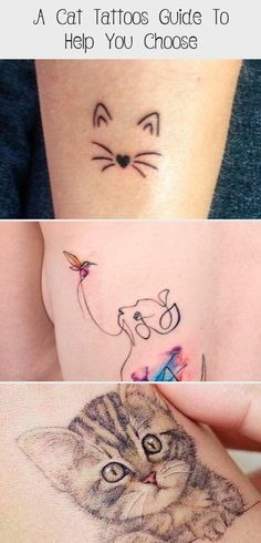 Simple Outline Ankle Tattoo ★ Simple, small or tiny, minimalistic, watercolor or black, geometric or realistic ideas for cat tattoos that for sure will be memorial. Cat Eye Tattoos, Egyptian Cat Tattoos, Black Cat Tattoos, Tattoo Gato, Cute Cat Tattoo, Tiny Tattoos With Meaning, Small Tattoos, Geometric Cat Tattoo, Watercolor Cat Tattoo