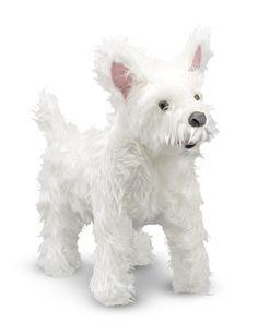 Plush West Highland Terrier (Westie)