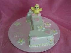 Image detail for -1st birthday cake an adorable cake for an adorable little girls first ...