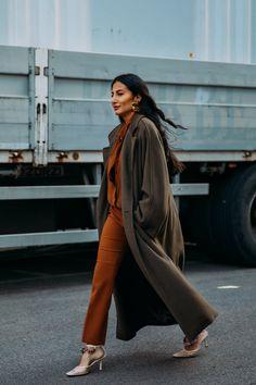 Say Buongiorno to Milan Street Style, Where the Looks Are All Gucci Fashion News, Fashion Beauty, Milan Fashion, Camille Charriere, Caroline Issa, Eva Chen, Gucci Coat, Italian Luxury Brands, New Street Style