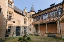 Hôtel Fumé, Poitiers, France. Ma Faculté de Sciences Humaines et Arts.