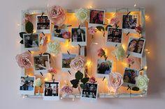 DIY Light Up Flower Photo Frame - Love Steph x