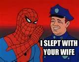 lol 60s spiderman